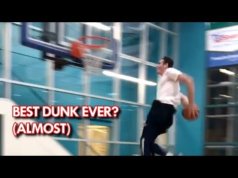 Jared Roth Attempts the possibly the BEST DUNK EVER!