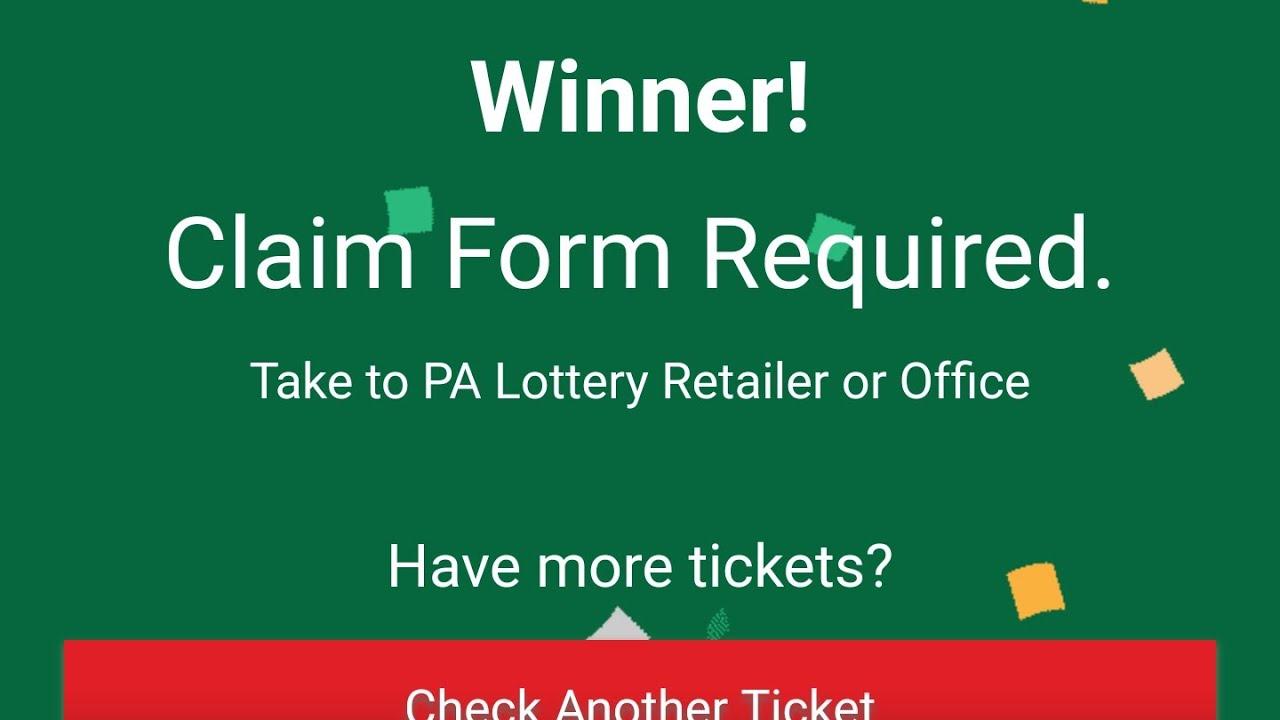 Claim winner** Huge PA lottery winner! **Burst action with win all ...