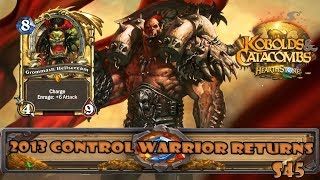 2013 Control Warrior Returns