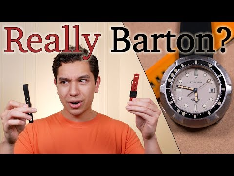 Barton Watch Bands Elite Silicone Strap - One Of The Best Rubber Straps For Your Sports Watch