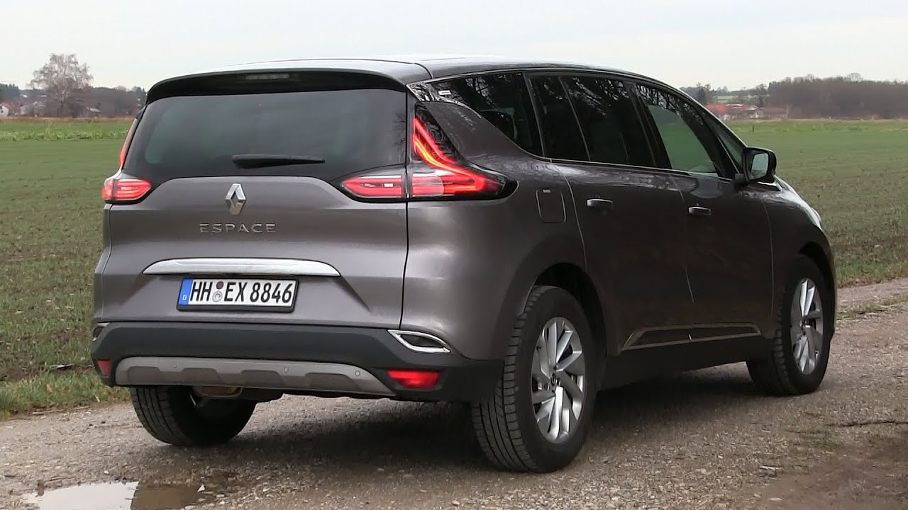 2015 renault espace 160 dci 160 hp test drive youtube. Black Bedroom Furniture Sets. Home Design Ideas