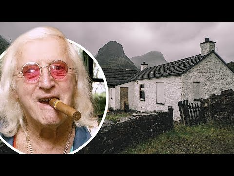 ABANDONED Jimmy Saville's Remote Scottish Hideout