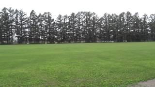 【球場を1周してみた】帯広の森野球場 150630