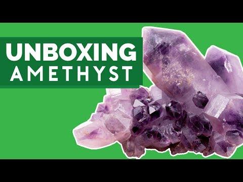 Unboxing Raw & Cut Amethyst