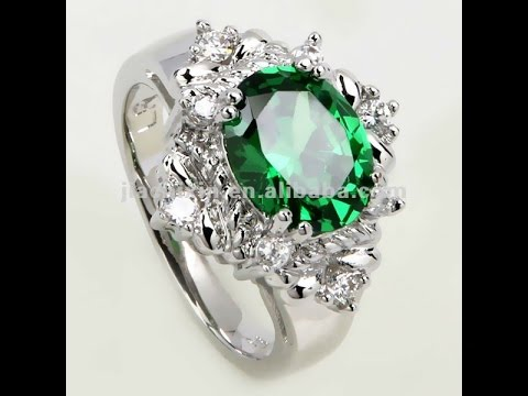Кольца с изумрудами - фото 2017 / Rings with emeralds