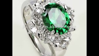 Кольца с изумрудами - фото 2018 / Rings with emeralds
