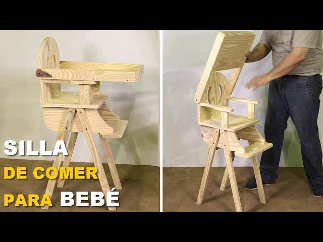 Silla De Comer Para Bebé Paso A Paso Fácil De Hacer Tutorial De Carpintería Youtube