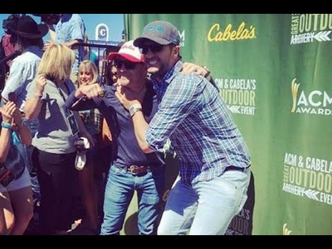 Luke Bryan & Justin Moore Trash Talk at Annual Archery Tournament