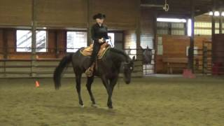 Ellie Becker, Horsemanship Schooling 1