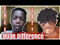 High Top Dreads How To Get Dreadlocks With Short Hair FOR FREE, NO PRODUCTS