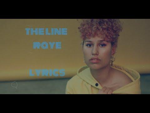 The line- Raye video lyrics