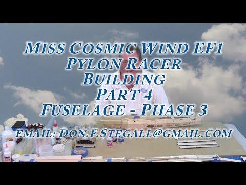 Miss Cosmic Wind EF1 - Building - Part 4 - Fuselage Phase 3