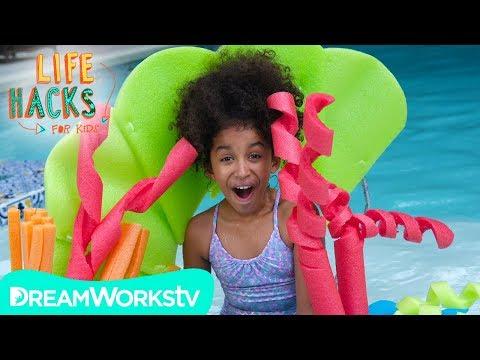 DIY Coral Floaties and other Mermaid Hacks | LIFE HACKS FOR KIDS