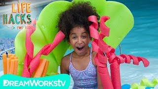 DIY Coral Floaties and other Mermaid Hacks | LIFE HACKS FOR KIDS