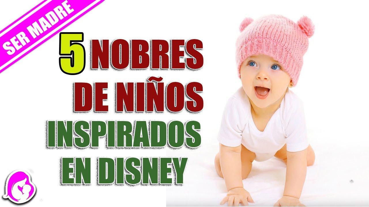 5 Nombres de niños inspirados en personajes Disney