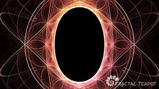 Fractal Geometry Journey - Hyperbolic Flower of Life