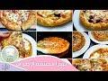 ٨ بيتزا محشية الاطراف من كيلو دقيق   ستافت كراست بيتزا