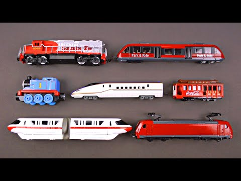 Railway Vehicles for Children - Steam Trains, Diesel Locomot