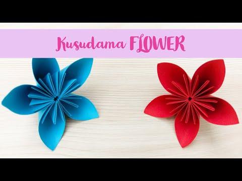 Origami Kusudama ✿ FLOWER ✿ - Easy Tutorial