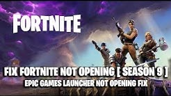 FIX Fortnite NOT OPENING ! [ Fortnite NOT LAUNCHING FIX ] SEASON 11