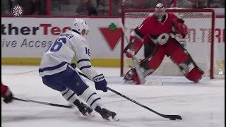 Mitch Marner Scores The Same Goal Against Same Team As His Goal From The NHL 18 Video Game Trailer