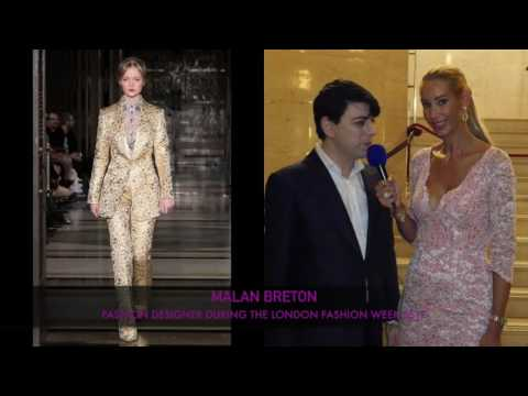 LFW2016 _ INTERVIEW WITH DESIGNER MALAN BRETON SS17