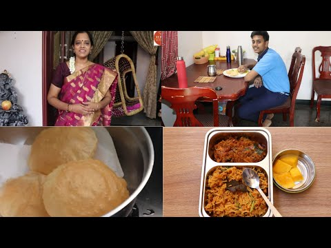 Chicken Rice/Chicken pulao in Tamil/What I prepared for Breakfast and Lunch/Lunchbox recipe in Tamil
