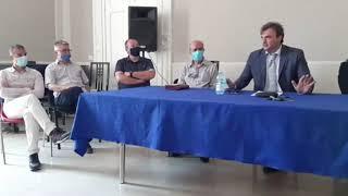 Post sisma 2018: la conferenza stampa dei sindaci del Cratere