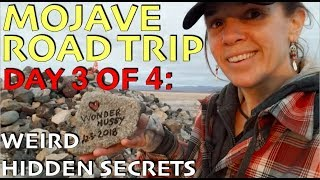 Mojave Road Trip Day 3: Phonebooth, Lava Tubes, Mojave Mailbox and Traveler's Monument