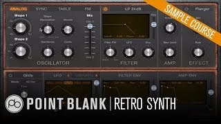 Logic Pro X - Exploring Retro Synth