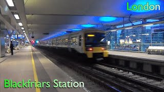 London Blackfriars Station | Thameslink - Southeastern ( British Rail Class 387 - 466 - 465 - 319 )