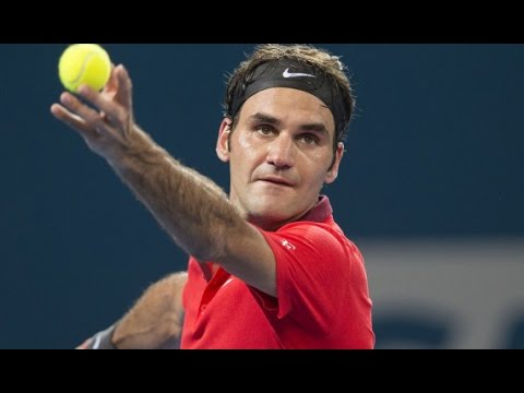 Roger Federer v John Millman highlights (2R) - Brisbane International 2015
