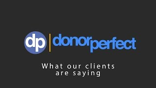DonorPerfect Fundraising Software Clients Share Their Success