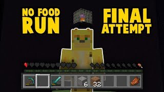 FINAL TRY: Is It Possible To Beat Minecraft Without Eating?