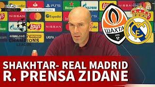 SHAKHTAR vs REAL MADRID | ZIDANE, rueda prensa CHAMPIONS: HAZARD, ASENSIO, RAMOS... | DIARIO AS