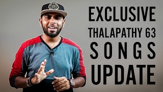 Official: Thalapathy 63 Exclusive 2 Songs - Lyricist Vivek Opens Up |1st Channel To Give This Update