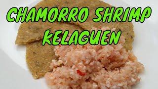 Shrimp Kelaguen Or Shrimp-lemon-coconut Salad
