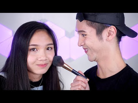Doing My Sister's Makeup - Edward Avila