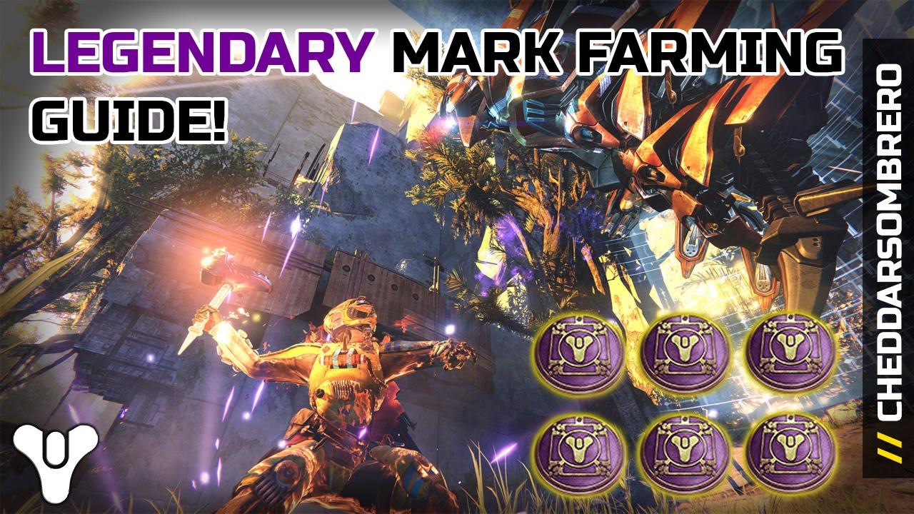 Destiny: Legendary Marks Farming Guide! September 22nd