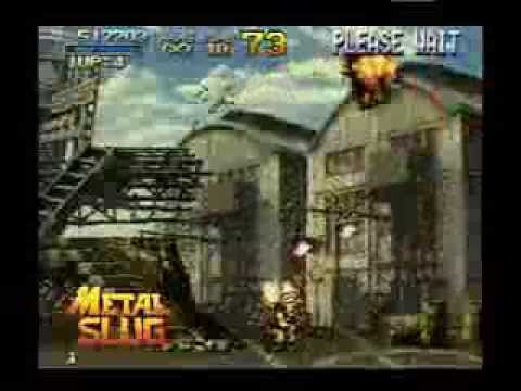 Metal Slug 1-3 and X (cancelled Game Boy Advance ports
