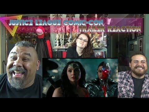 Justice League Comic-Con Trailer Reaction
