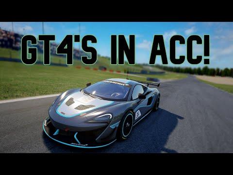The New GT4 DLC Pack! || Assetto Corsa Competizione |