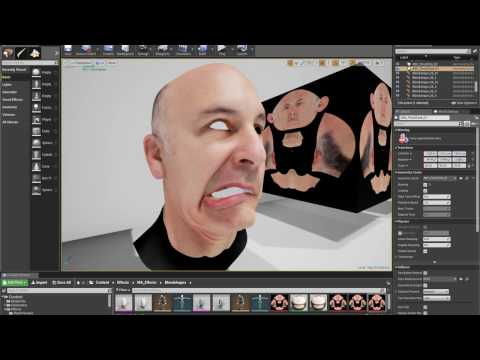 Realistic Faceanimation in Realtime