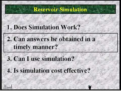 User Friendly Reservoir Simulation with Merlin