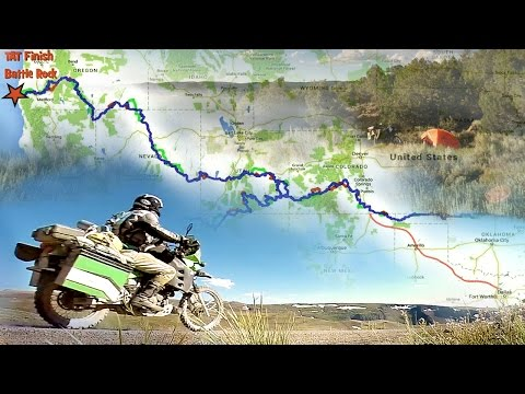 Motorcycle Adventure through the American West, the Trans-America Trail