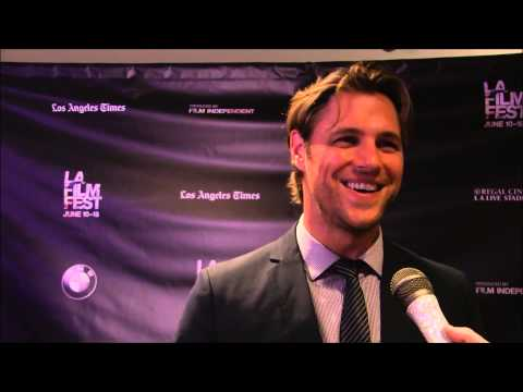 Sam Page at 'Caught' LAFF Premiere