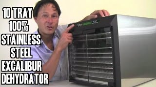 Excalibur Commercial Stainless Food Dehydrator EXC10EL Review
