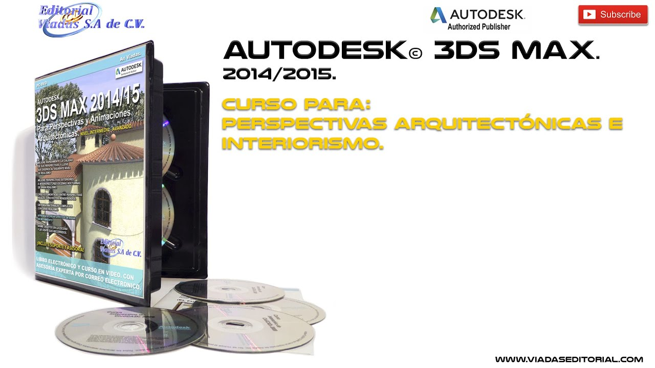 3ds max 2015 tutorial en espa ol proyectos arquitectura for Curso arquitectura software