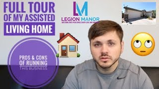 Full tour of my Assisted Living Home | PROS & CONS OF OWNING THIS BUSINESS YouTube Videos