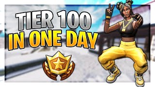 How To Level Up Fast + Get Tier 100 In ONE DAY In Season 8! (Fortnite Level Up Fast)